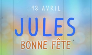 Jules - 12 avril