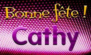 Cathy - 29 avril