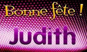 Judith - 5 mai