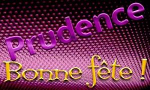 Prudence - 06 mai