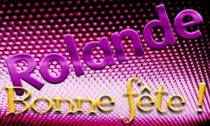 Rolande - 13 mai