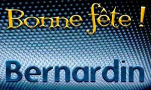 Bernardin - 20 mai