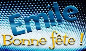 Emile - 22 mai