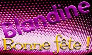 Blandine - 2 juin