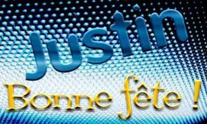 Justin - 1er juin