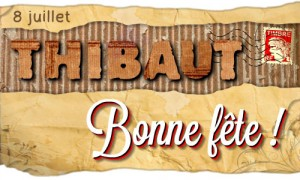 Thibaut - 8 juillet