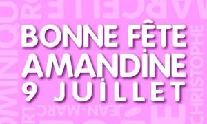 Amandine - 9 juillet