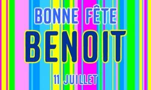 Benoît - 11 juillet