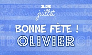 Olivier - 12 juillet