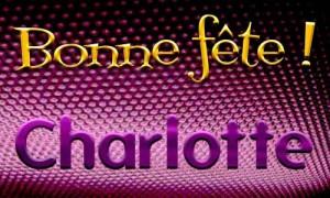Charlotte - 17 juillet