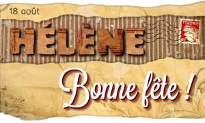 Bonne fête Hélène