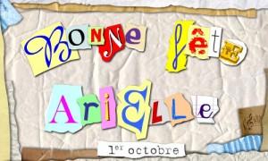 Arielle - 1er octobre