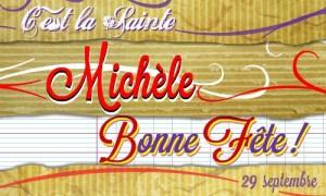 Michèle - 29 septembre