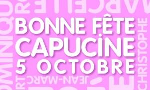 Capucine - 5 octobre