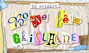 Ghislaine - 10 octobre
