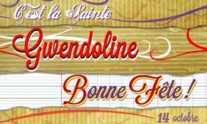 Gwendoline - 14 octobre