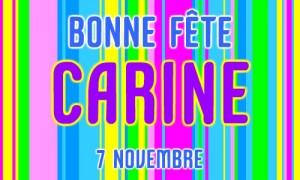 Carine - 7 novembre
