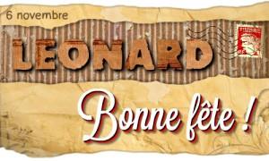 Léonard - 6 novembre