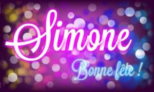 Simone - 28 octobre