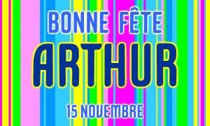 Arthur - 15 novembre