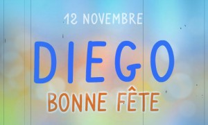 Diego - 12 novembre