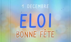 Eloi - 1er décembre