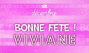 Viviane - 2 décembre