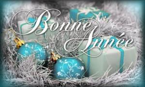 Voeux boules de Noël
