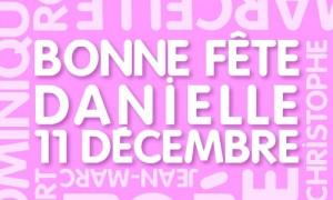 Danielle - 11 décembre