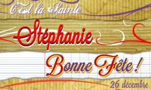 Stéphanie - 26 décembre