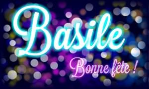 Basile - 2 janvier