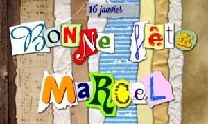 Bonne fête Marcel