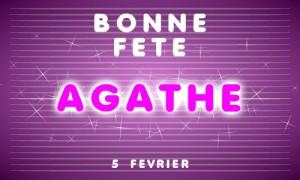 Agathe - 5 février
