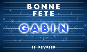 Gabin - 19 février