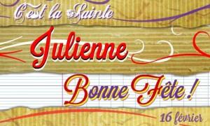 Julienne - 16 février
