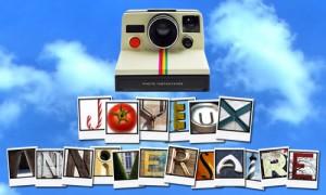 Anniversaire et Polaroid