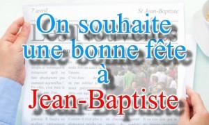 Jean-baptiste - 7 avril