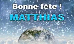 Matthias - 14 mai