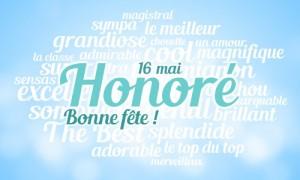 Honoré - 16 mai