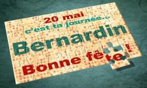 20 mai - Bernardin