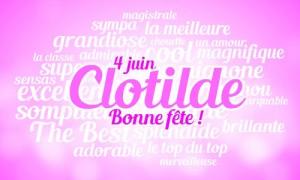 Clotilde - 4 juin