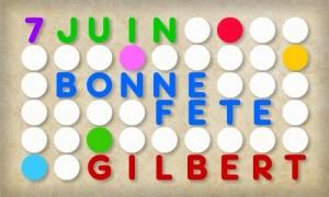 Gilbert - 7 juin