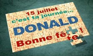 Donald - 15 juillet