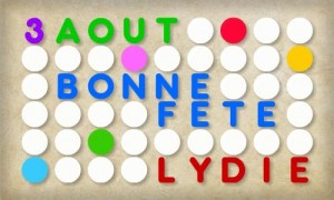 Lydie - 3 aout