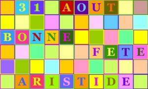 Aristide - 31 août
