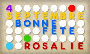 Rosalie - 4 septembre