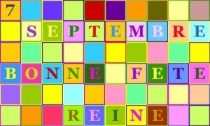 Reine - 7 septembre