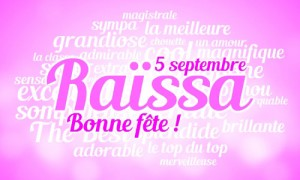 Raissa - 5 septembre