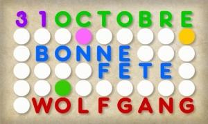 Wolfgang - 31 octobre