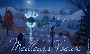 Les Illuminations de la nouvelle année
